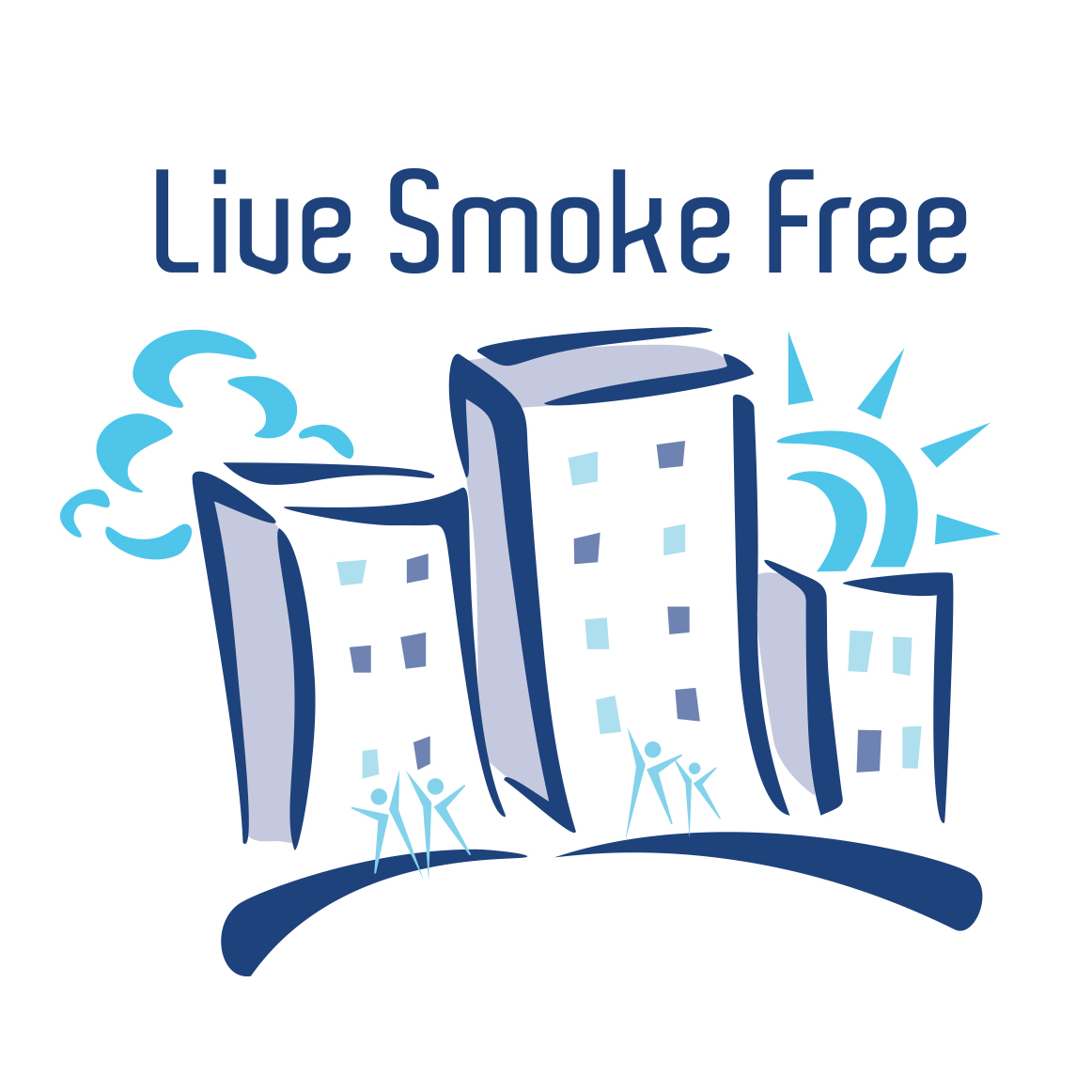 Live Smoke Free Logo