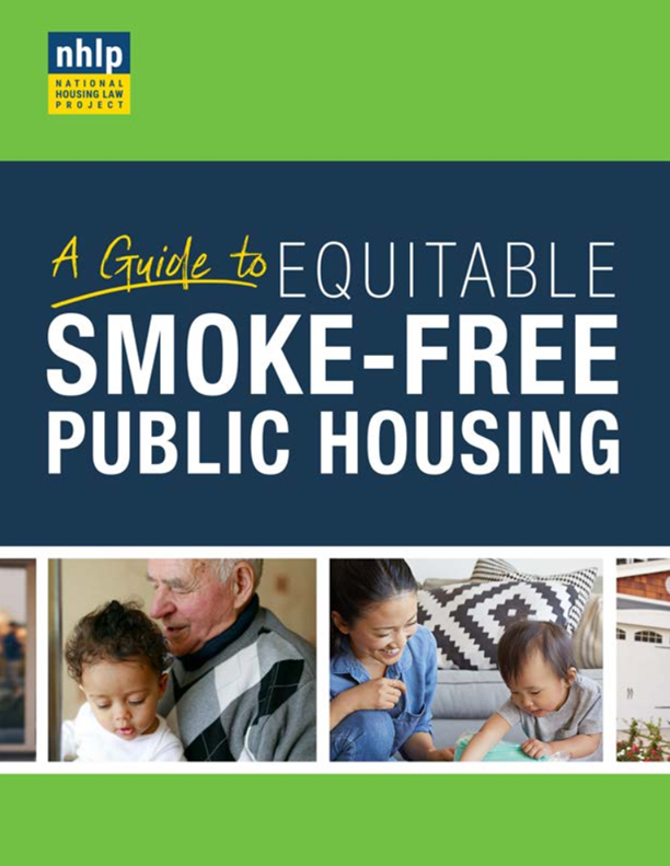 Cover of A Guide to Equitable Smoke-Free Public Housing